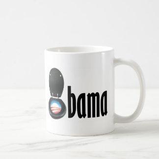 Obama (toilet) basic white mug