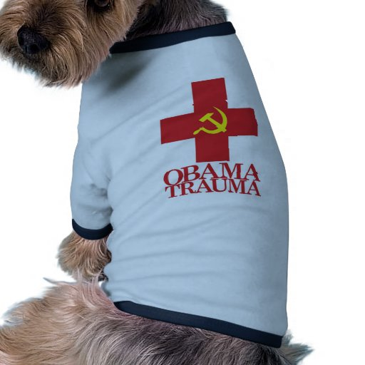 Obama Trauma Doggie Tee Shirt