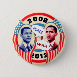 Obama Two-Face 6 Cm Round Badge