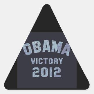 Obama Victory 2012 Triangle Sticker