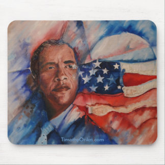 Obama: Vision Personified - Mousepad