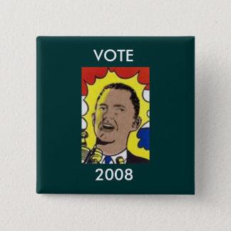 Obama VOTE 2008 Button