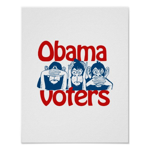 Obama Voters Poster