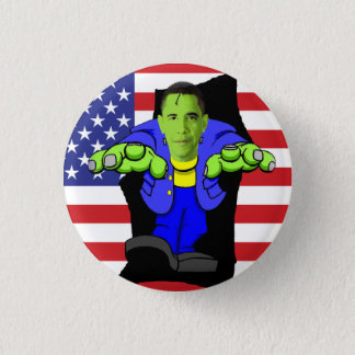 Obama vs America! 3 Cm Round Badge
