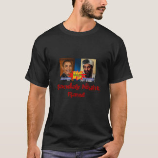 Obama vs Osama Monday Night Raw! T-Shirt