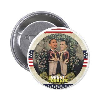 Obama vs. Romney 6 Cm Round Badge