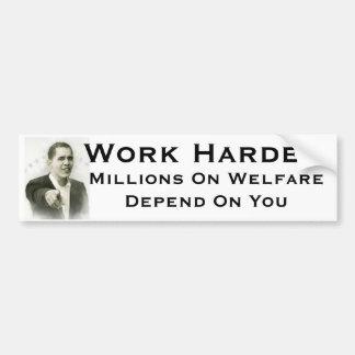 obama wants you bumper sticker
