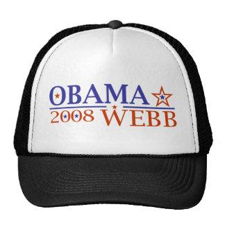 Obama Webb 08 Trucker Hat