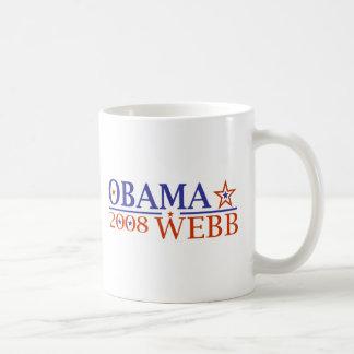 Obama Webb 08 Mugs