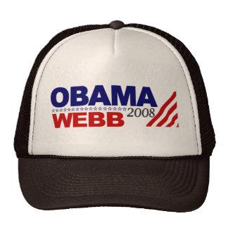 Obama Webb 2008 Trucker Hat