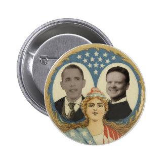 Obama /Webb Lady Liberty Button