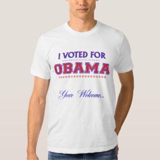 Obama Welcome Tee Shirt