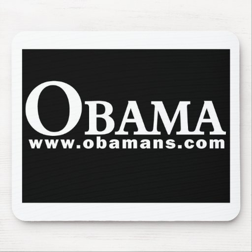 Obama White/Black Series II Mouse Mats