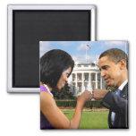 Obama White House Fist Bump Magnet