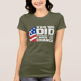 Obama Wins T-Shirt