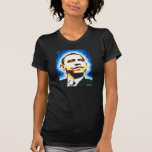 Obama Womens Black T-Shirt