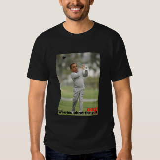 Obama worried about the golf tee shirt