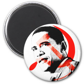 Obama - Yes He Will 6 Cm Round Magnet
