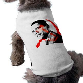 Obama - Yes He Will Sleeveless Dog Shirt