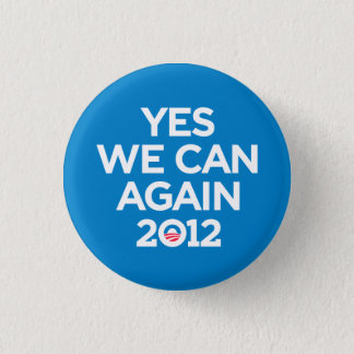Obama Yes We Can Again Button