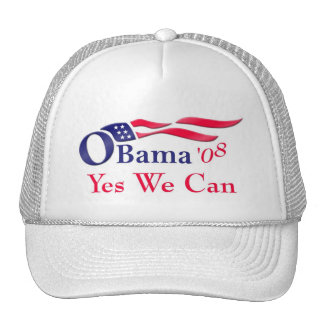 Obama Yes We Can Cap