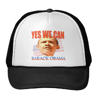 Obama Yes We Can Hats