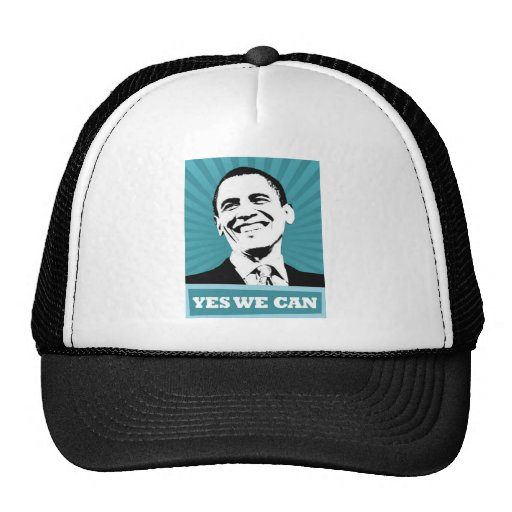 Obama-Yes We Can Hats