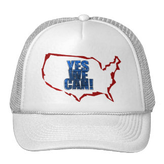 "Obama ""Yes We Can!"" Hat"