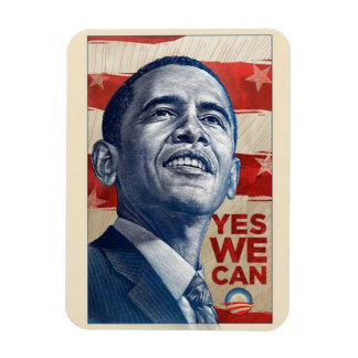 "Obama ""Yes We Can"" Magnet"