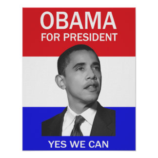 obama yes we can poster