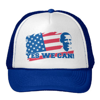 Obama Yes We Can Trucker Hat