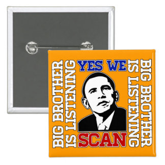 Obama Yes We Scan Button