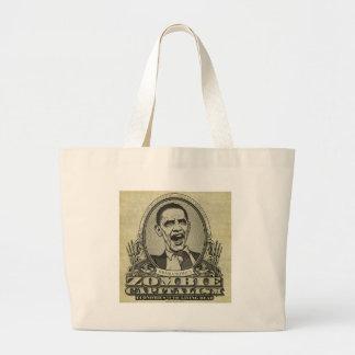 Obama Zombie Canvas Bag