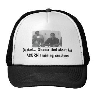 obamaacorn, Busted... Obama lied about his ACOR... Cap