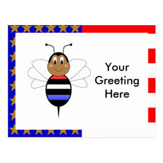 ObamaBee Bumble Bee Postcard