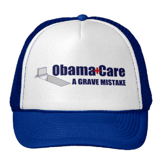 ObamaCare A Grave Mistake Mesh Hat