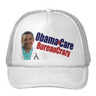 ObamaCare BureauCrazy Trucker Hats