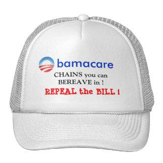 obamaCARE, CHAINS yo... Mesh Hats