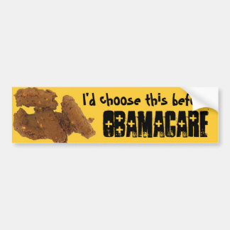 OBAMACARE corn poop I d choose this before Bumper Stickers