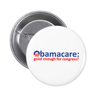 Obamacare good enough for congress pins