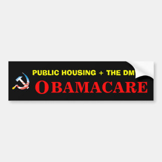 Obamacare Health Care Bumper Sticker