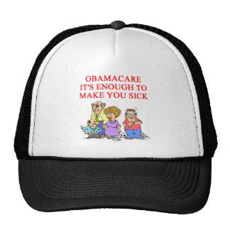 OBAMACARE MESH HATS
