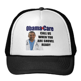 ObamaCare - Shovel Ready Cap