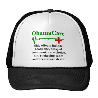 ObamaCare Side Effects Mesh Hat