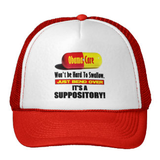 ObamaCare - Suppository Trucker Hats