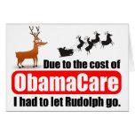 ObamaCare Vs Rudolph Card