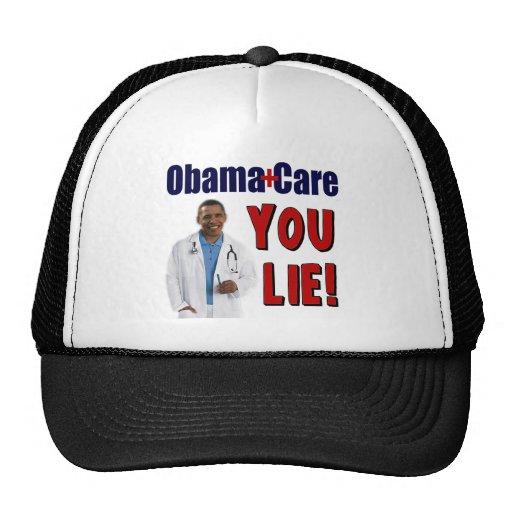 """ObamaCare: """"You Lie!"""" Hat"""