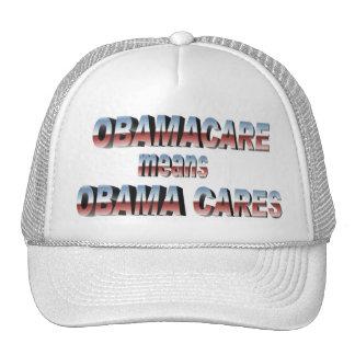 ObamaCareHat Cap