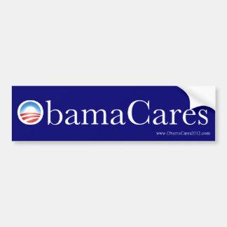 ObamaCares Bumper Sticker