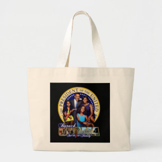OBAMAFIRSTFAMILY LARGE TOTE BAG